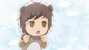 Sasuke as the lion
