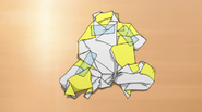 Hime's origami monkey