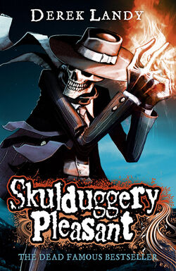 Skulduggery Pleasant cover 2