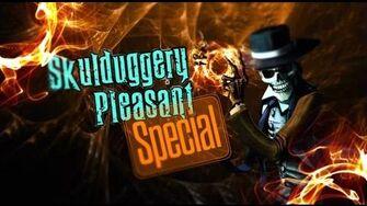 Skulduggery Pleasant Theatre of Shadows Special
