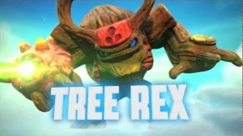 """Meet the Skylanders - Tree Rex """"Be Afraid Of the Bark!"""" Official Trailer"""