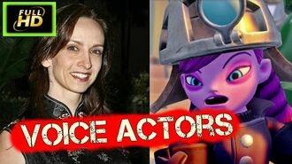 Skylanders Superchargers Characters and Voice Actors Cutscenes