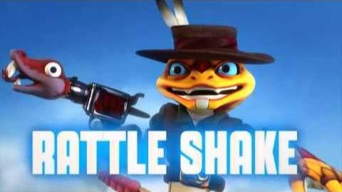 Skylanders Swap Force - Rattle Shake Soul Gem Preview (Go Ahead - Snake My Day)