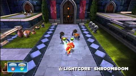 Meet the Skylanders LightCore Shroomboom