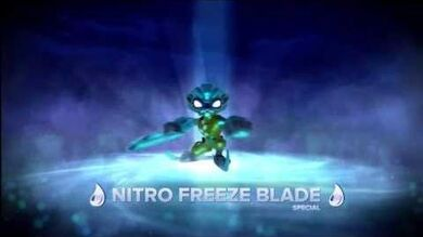 Skylanders Swap Force - Meet the Skylanders - Nitro Freeze Blade (Keeping It Cool)
