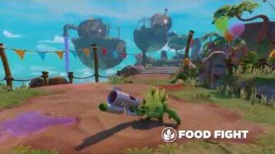 Meet the Skylanders Food Fight