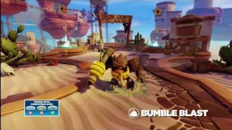 Meet the Skylanders Bumble Blast