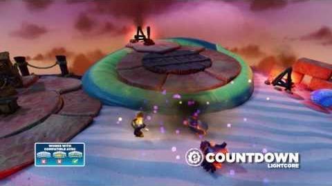 Meet the Skylanders LightCore Countdown