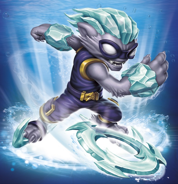 skylanders coloring pages freeze blade - photo#11