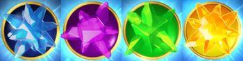 Imaginite crystals