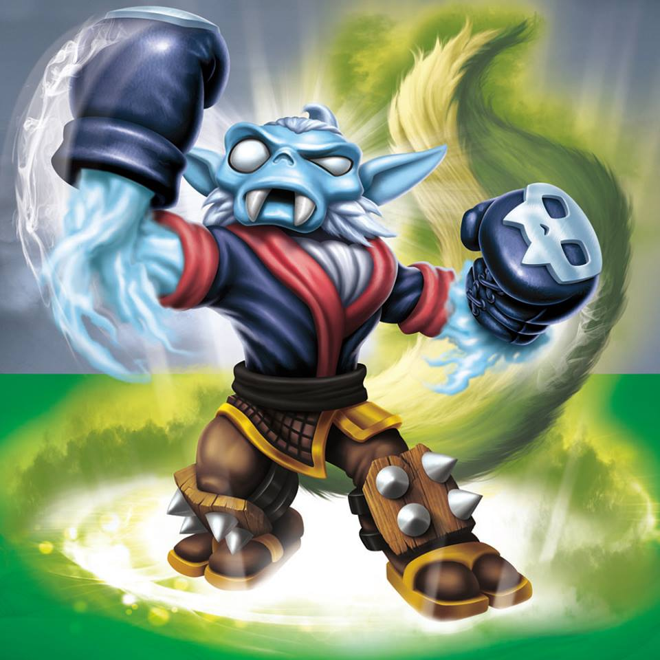 meet the skylanders stink bomb and night