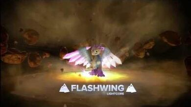 Skylanders Swap Force - Meet the Skylanders - LightCore Flashwing (Blinded by the Light)