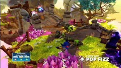 Skylanders Swap Force - Meet the Skylanders - Super Gulp Pop Fizz