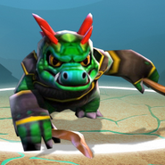 Skylanders dino rang earth element