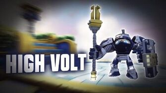 Skylanders SuperChargers - High Volt's Soul Gem Preview (Protect and Surge)