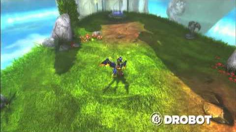 Skylanders Spyro's Adventure - Drobot Preview (Blink and Destroy)