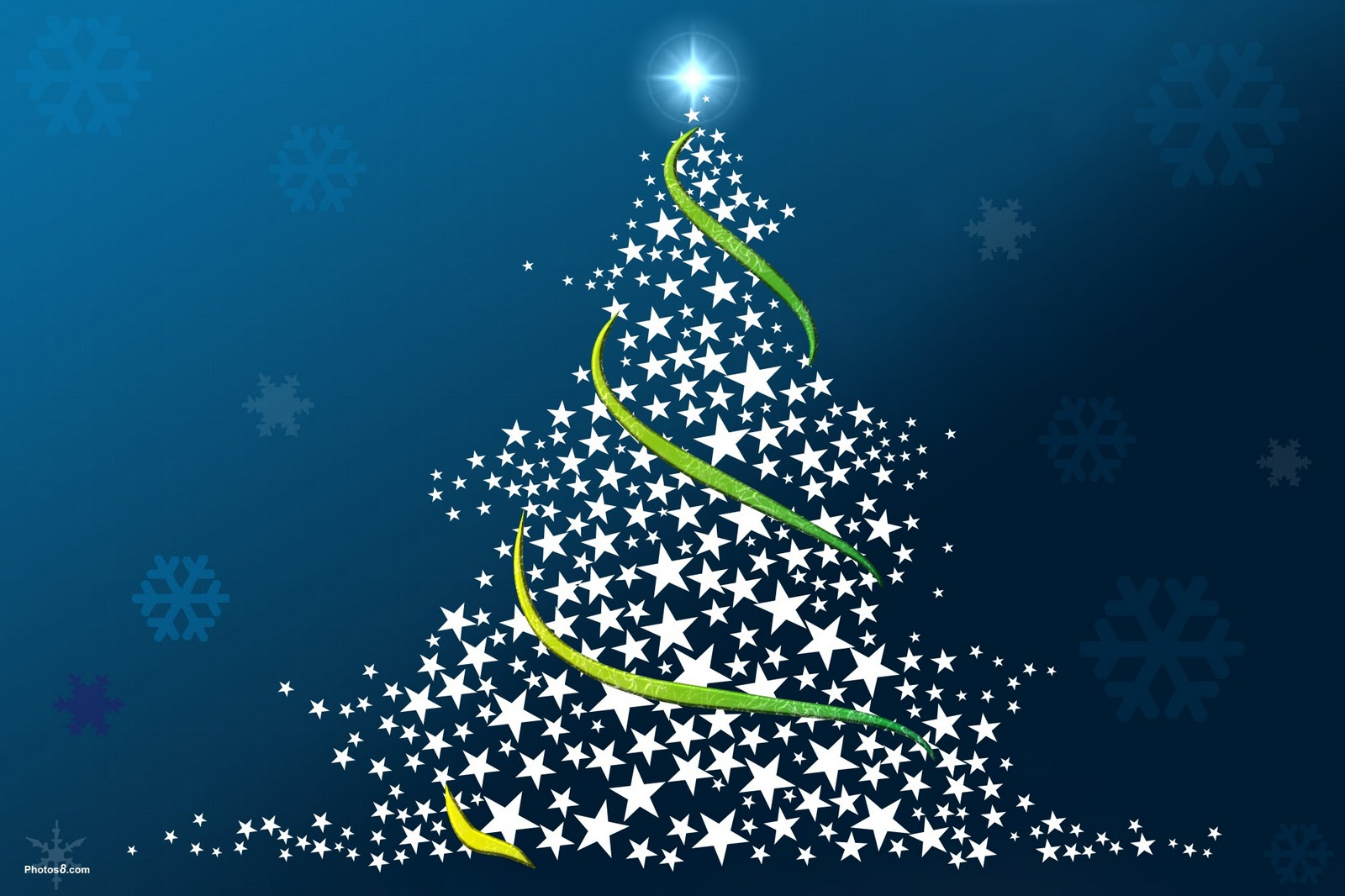 blu christmas tree wallpaper backgrounds - photo #10