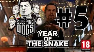 Sleeping Dogs Year Of The Snake DLC Walkthrough Part 5 HD W Commentary