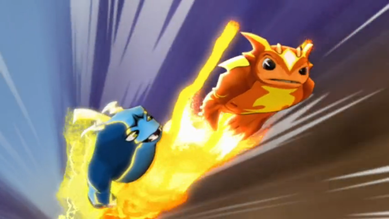 Pictures of Slugterra Burpy And Joules Fusion Shot - #rock-cafe
