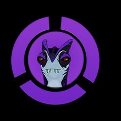 Flatulo Rex icon (NEW version)