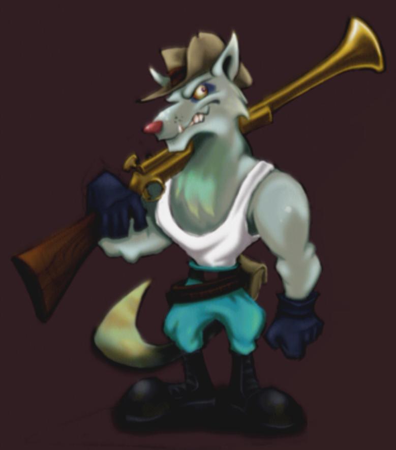 Dingo Flashlight Guard Sly Cooper Wiki Fandom Powered