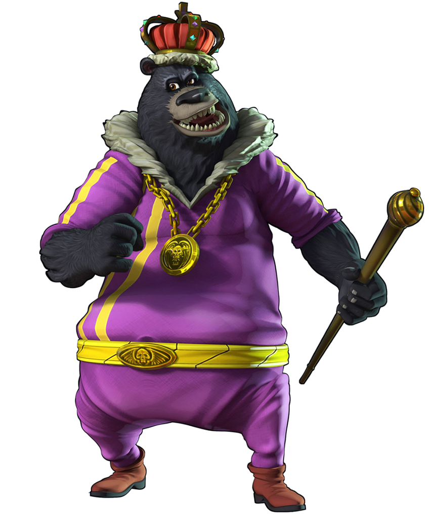 Grizz   Sly Cooper Wik...