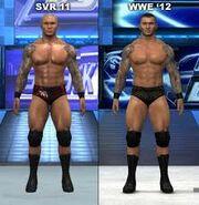 Wwe 12 orton comparison
