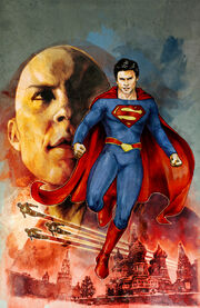 Smallville Alien cover