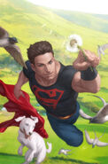 Superboy and krypto by artgerm-d360cii