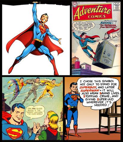 File:Superman SV Superboy-Pre-Crisis-Gallery.jpg