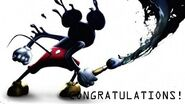 Mickey mouse congratulations