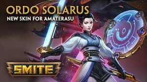 SMITE - New Skin for Amaterasu - Ordo Solarus