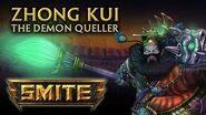 SMITE God Reveal - Zhong Kui, The Demon Queller
