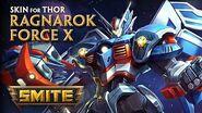SMITE - New Skin for Thor - Ragnarok Force X