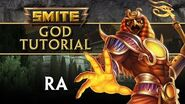 SMITE Tutorial - Ra, The Sun God