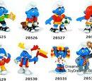 2004 Smurf figurines