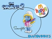 The Smurfs 2 happy meal smurfette 002