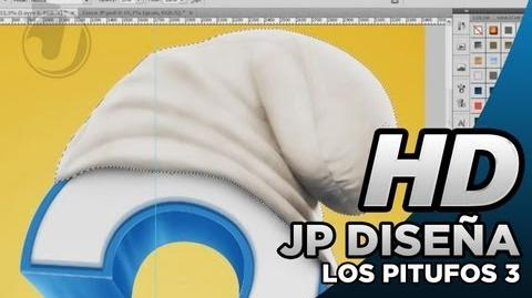 LOS PITUFOS 3 (THE SMURFS 3) Póster Provisional - Making Of
