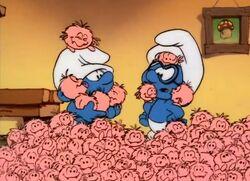 Fuzzle Trouble - Smurfs