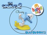 The Smurfs 2 happy meal clumsy