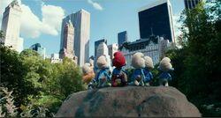 Smurfs In New York City