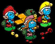 Smurflings christmas