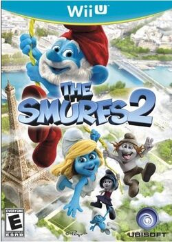 Smurfs 2 Wii U Box Cover