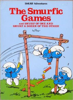 Smurfic Games Comic Book