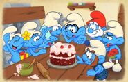 Smurfs 2 Game Smurfette's Birthday