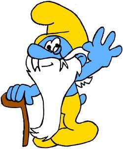 Grandpa Smurf Glovey Story