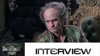Lemony Snicket's A Series of Unfortunate Events Interview mit Neil Patrick Harris (Count Olaf)