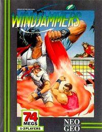 Windjammers (Neo Geo) Cover