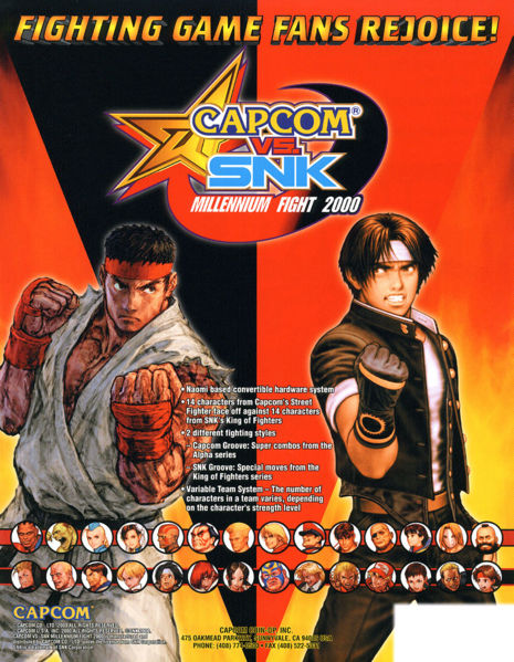 Image result for capcom vs snk