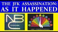 JFK'S ASSASSINATION (NBC-TV COVERAGE) (PART 1)